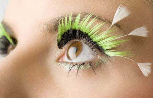 Künstliche Wimpern Ankleben Anleitung Tipps